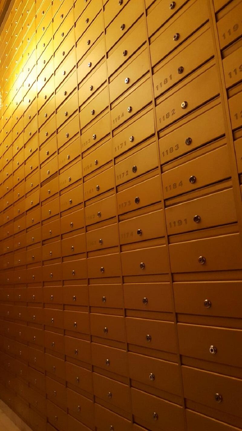 תיבות דואר - חיפוי קיר
