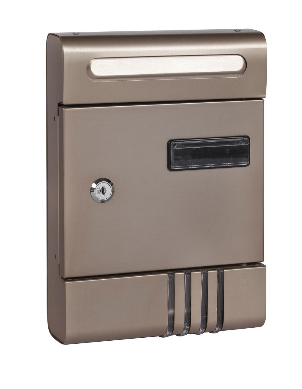 תיבת דואר חד צדדית חיצונית על הקיר