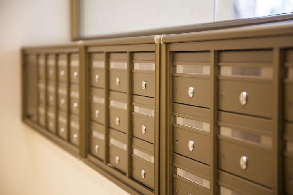 תיבות דואר בבניין משותף