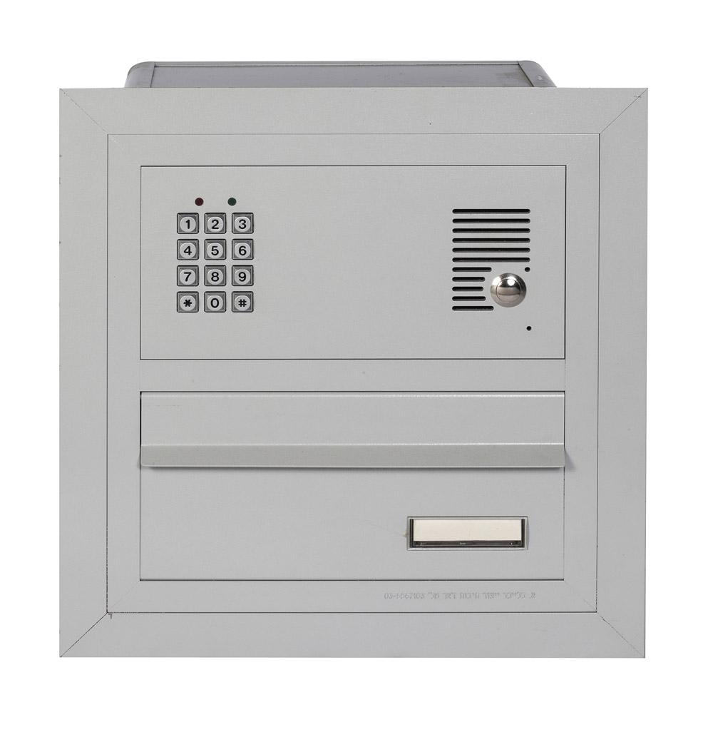 תיבת דואר  דו צדדית לשער