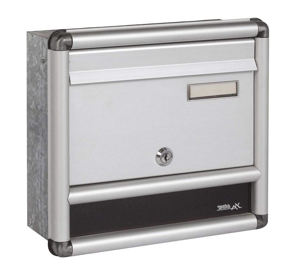 תיבת דואר  חד צדדית בתוך הקיר