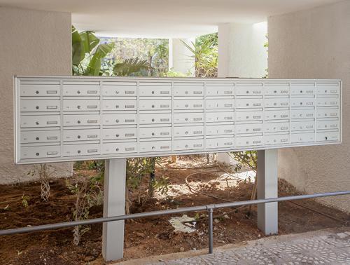 מערכת תיבות דואר חד צדדיות על עמודים