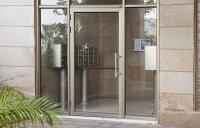 דלת כניסה מאלומיניום