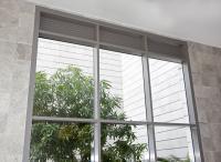 קיר מסך אפור