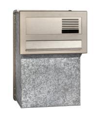 תיבת דואר דו צדדית אחורית עם כיס