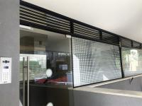 דלת זכוכית וויטרינה עם הדפסה קרמית